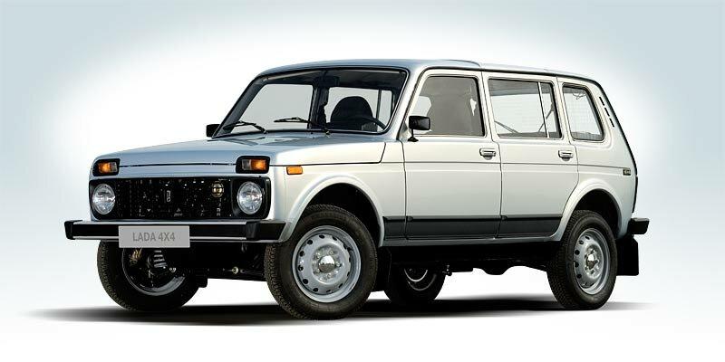 ВАЗ-2131 Нива 4x4 пятидверный