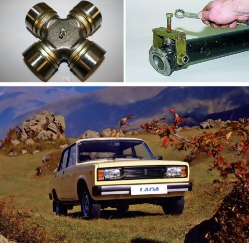 Как поменять крестовину на автомобиле ВАЗ